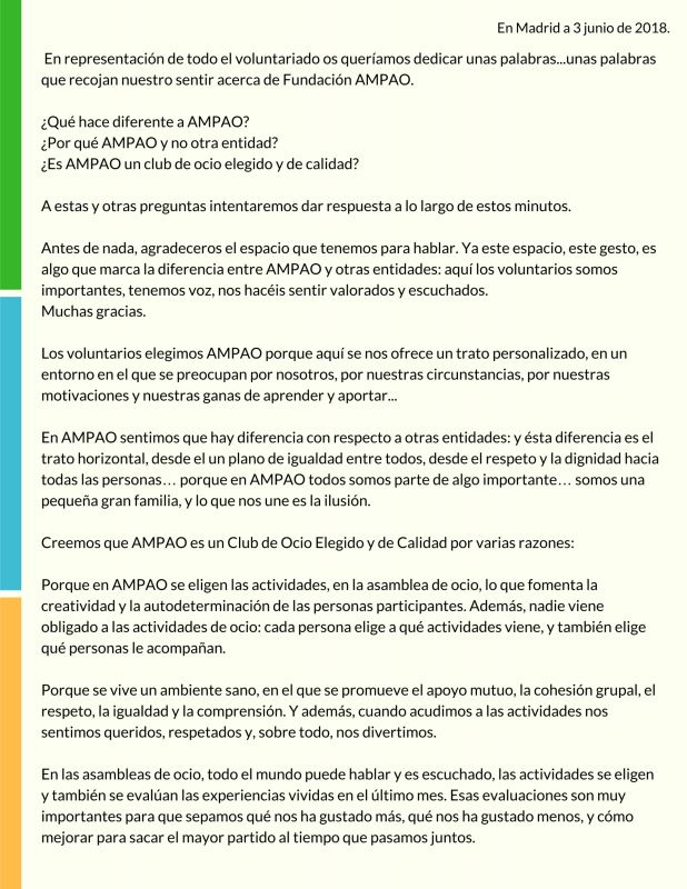 Manifiesto Voluntariado 1